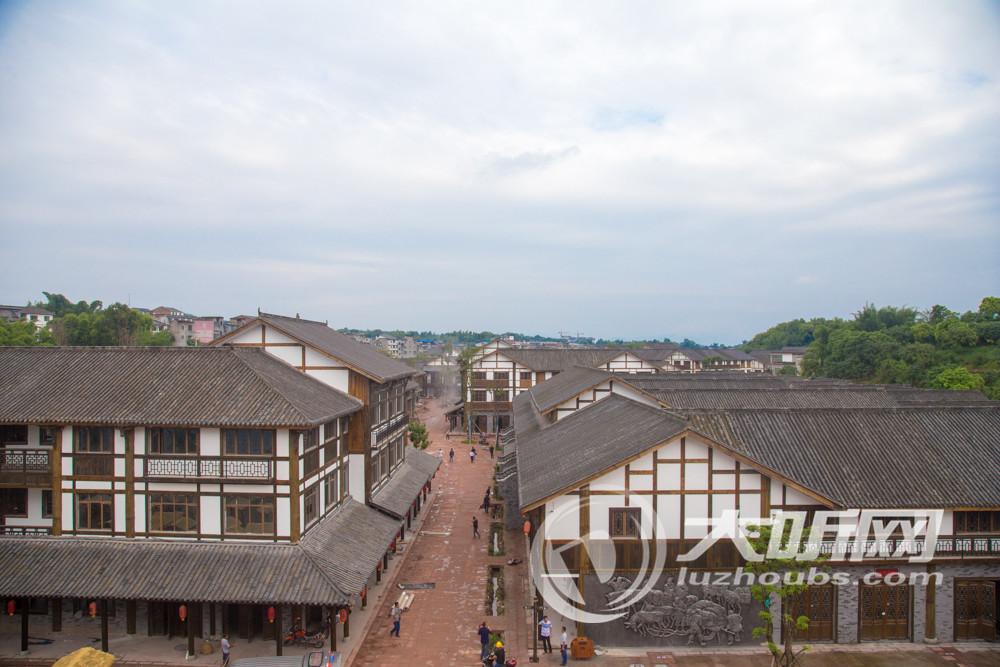 """合江""""尧坝驿""""开街在即 众多商家忙于筹备开业"""