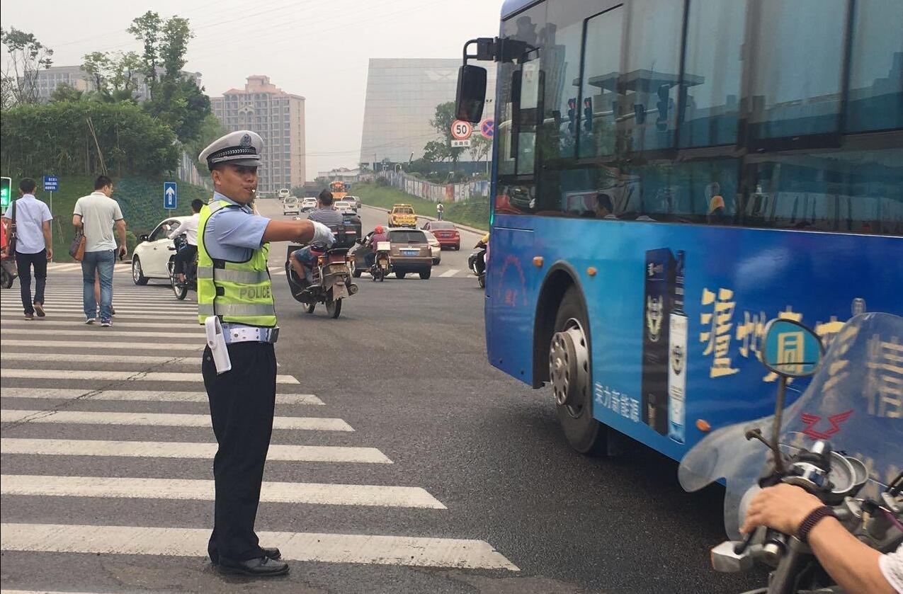 泸州交警上线 解答缓堵、交通安全问题