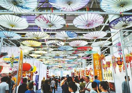 泸州油纸伞亮相中国非遗博览会