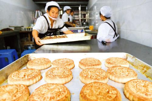 泸州:制作手工月饼 喜迎传统佳节