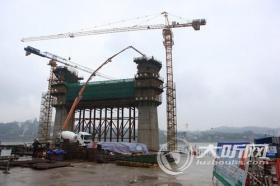 泸州长江二桥工程顺利推进