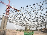 泸州云龙机场航站楼的建设一直在加班加点快速推进