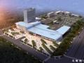 一个大写的川E 泸州城西客运站主体完工