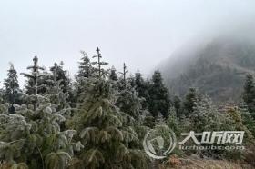 泸州叙永迎入冬首场