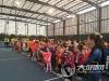 历年规模最大 2018泸州市青少年网球赛开赛