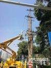 泸州供电公司加大配网改造 积极备战迎峰度夏