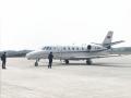 泸州云龙机场校飞正在进行 各个科目逐