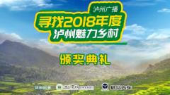 寻找2018年度泸州魅力乡村颁奖礼开场