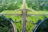 """300米见绿、500米见园 泸州为区域中心""""披绿装"""""""