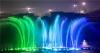 泸州:酒仙湖音乐喷泉调试 优美的画面让人熏陶(组图)
