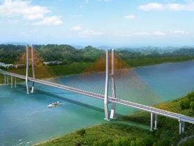 榕山長江大橋通過省