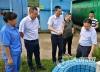 兴泸投资集团领导带队督察农村污水处理厂(站)环保工作