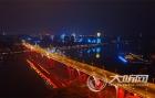 泸州夜景开启节日模式