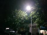 相关部门积极处理 潮河镇迎宾街的路灯亮起来了