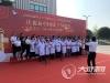 泸州:唱红歌歌颂祖国 新联会关爱老兵送健康