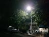 多方努力 泸县潮河镇迎宾街的路灯终于亮了
