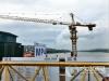 国庆节 泸州长江六桥施工工人坚守一线彰显责任担当