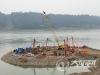 泸州白沙长江大桥进入主桥墩及引桥桩基施工阶段