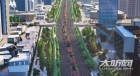 泸州城西再添景观大道