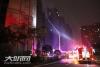 泸州江南新区一居民楼发生火灾  无无人员伤亡