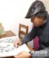 泸州籍老画家庞家俄   钢笔画出抗疫作品《中国样子》
