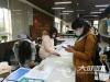 江阳区:蓝田街道有序为外出务工人员办理健康证