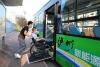 泸州首批10台无障碍纯电动公交车将投入214路运行