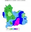 昨夜今晨泸州多地大雨, 最大降雨在古蔺