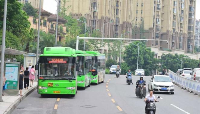 缓解交通拥堵   泸州主城区将新增26个港湾式公交站